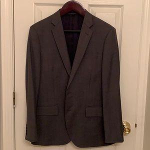 J Crew Ludlow Grey Three-Piece Suit 40s